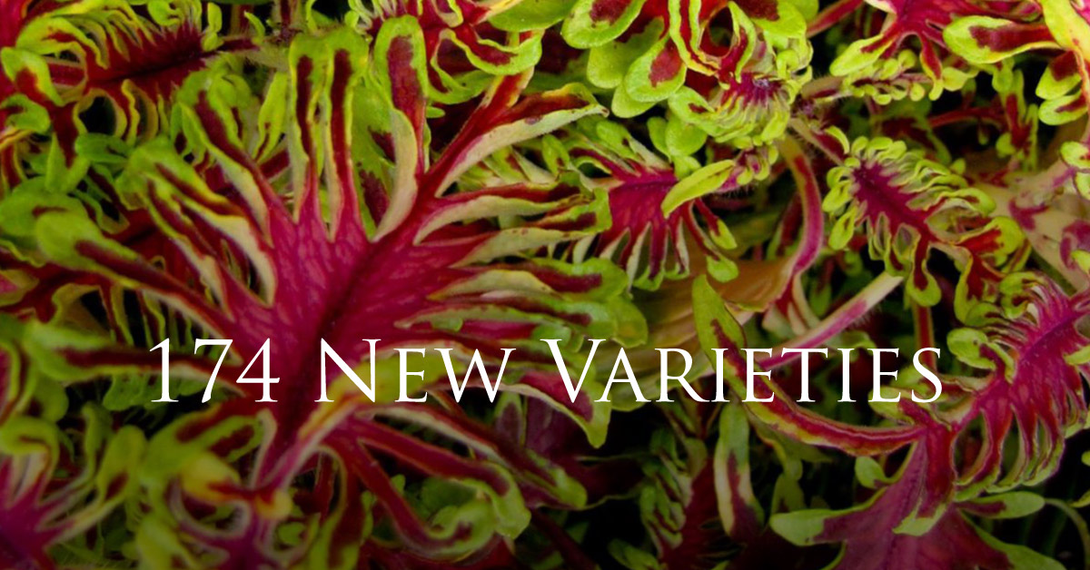 174 New Varieties for 2015