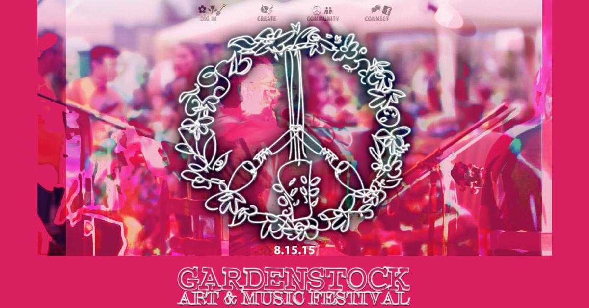 #Gardenstock15 : Gardenstock Art & Music Festival News!
