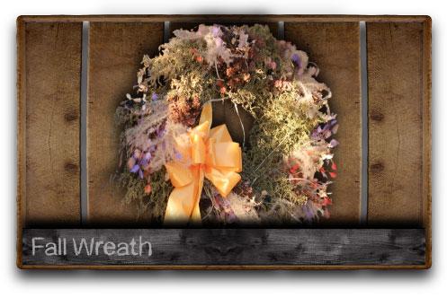 2014 Fall Wreath Class